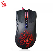 A4tech/ bloody A90 wired game mouse  professional gaming game notebook computer mouse LOLcf macro programming A90 USB wired