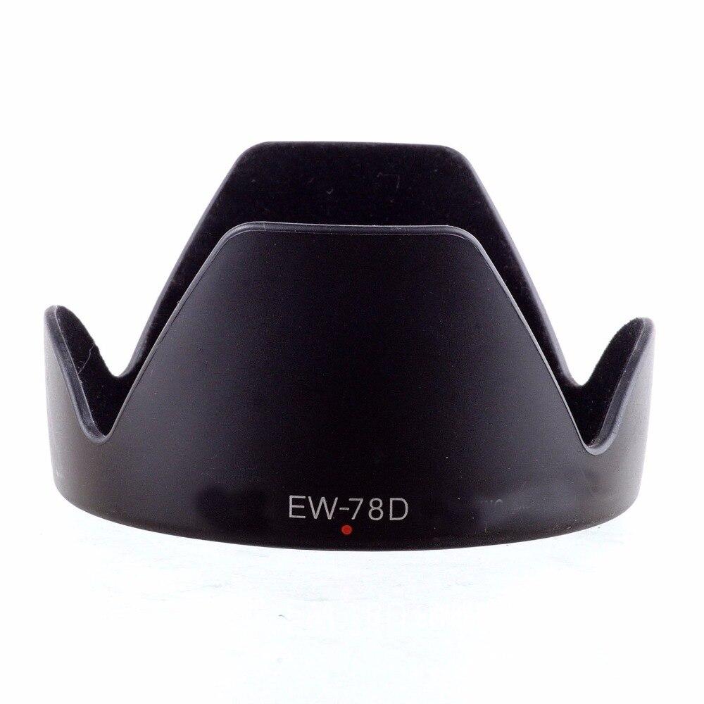 New Hood for Canon EW-78D 72mm Center Pinch Cap