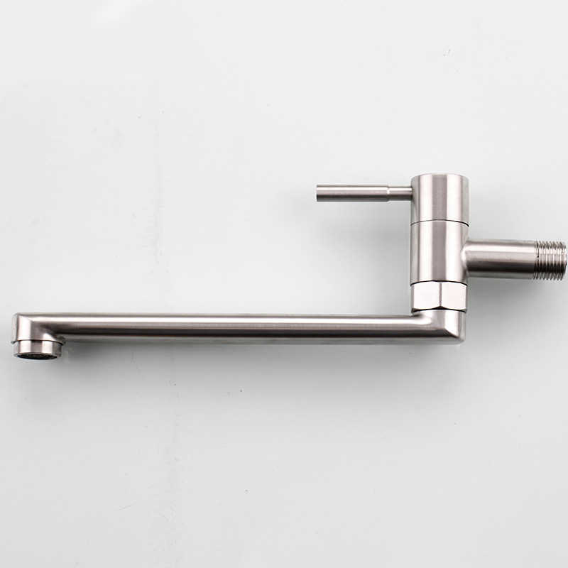 wall mounted long neck kitchen sink
