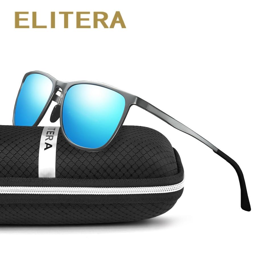 ELITERA Алюминий магнийі Полярлық күн көзілдірігі Ерлер Vintage Eyewear Аксессуарлар Күн көзілдірігі Men gafas de sol 6561