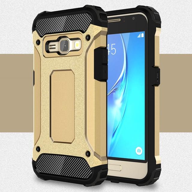 For Samsung Galaxy J1 2016 Case J120F Silicone Rubber Armor Phone Cover For Samsung Galaxy J1 Coque For Samsung J1 2016 fundas