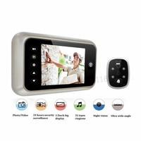 Salife 3 5 TFT LCD Color Screen Doorbell Viewer Digital Wireless Door Peephole Viewer Camera