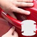 4 Unids/lote Exterior Manija de La Puerta Del Coche Película de Protección de Pegamento Adhesivo Del Coche Del Coche Accesorios Para Automóviles
