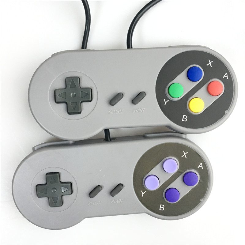 Wholesale USB Gamepad Game Controller Gaming Joystick Controller for Nintendo SNES Game pad for Windows PC MAC Computer Control
