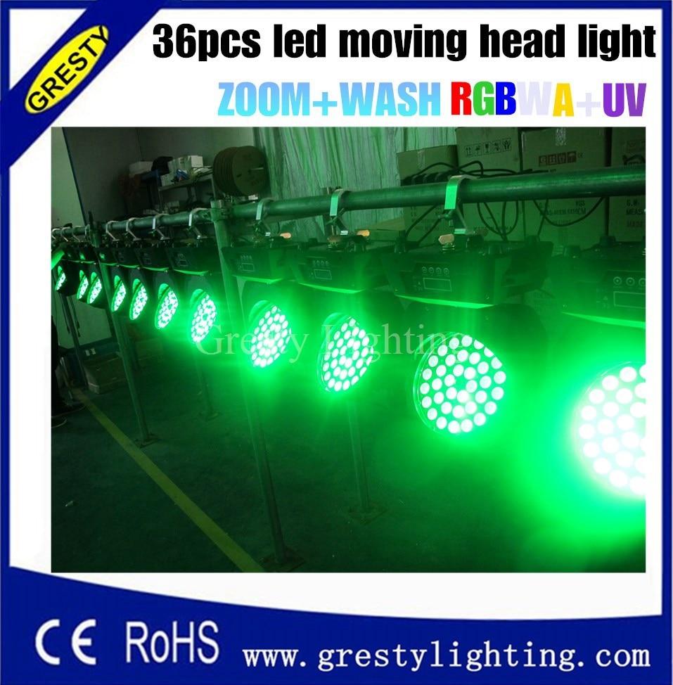 Led Moving Head Wash Wash Light 36x18w Edison High Brightness Leds - Կոմերցիոն լուսավորություն - Լուսանկար 4