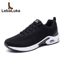 LebaLuka Fashion Men Breathable Casual Shoes Concise Lace Up Sneakers Footwear Daily Classics Shoes Men Footwear Size 39-44