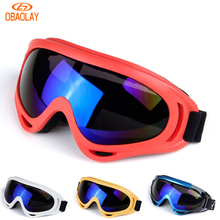 OBAOLAY Professional Outdoor Sports Sunglasses X400 Goggles Tactical Glasses Skiing Motorcycle Cycling Glasses Windproof Eyewear