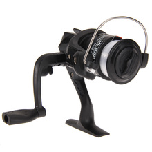 HOT SALE!! Aluminum Body Spinning Reel High Speed G-Ratio 5.2:1 Fishing Reels with Line casting fishing reel lure tackle line