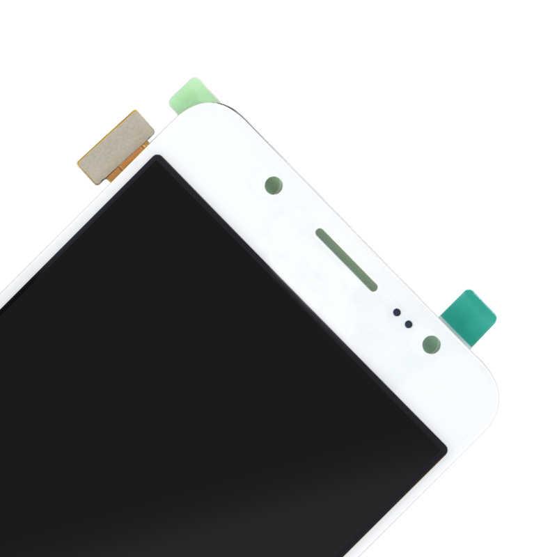 لسامسونج غالاكسي j5 2016 J510 SM-J510FN J510F J510G J510Y J510M شاشة LCD عالية الجودة عرض مع مجموعة المحولات الرقمية لشاشة تعمل بلمس