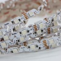 LED Strip 5050 RGB Free Bending S Shape LED Strip IP30 DC12V Flexible LED Light 60LED
