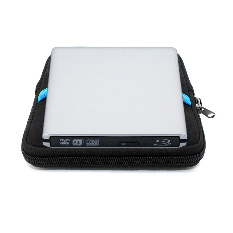 USB 3.0 Blu-ray drive  External DVD RW Optical drive Combo  CD/DVD/BD-ROM 3D Player Super drive for Laptop Apple Macbook PC+Driv blu ray player external usb 3 0 dvd bd rw burner drive cd dvd bd rom player portable slim for laptop play 3d movie drive bag