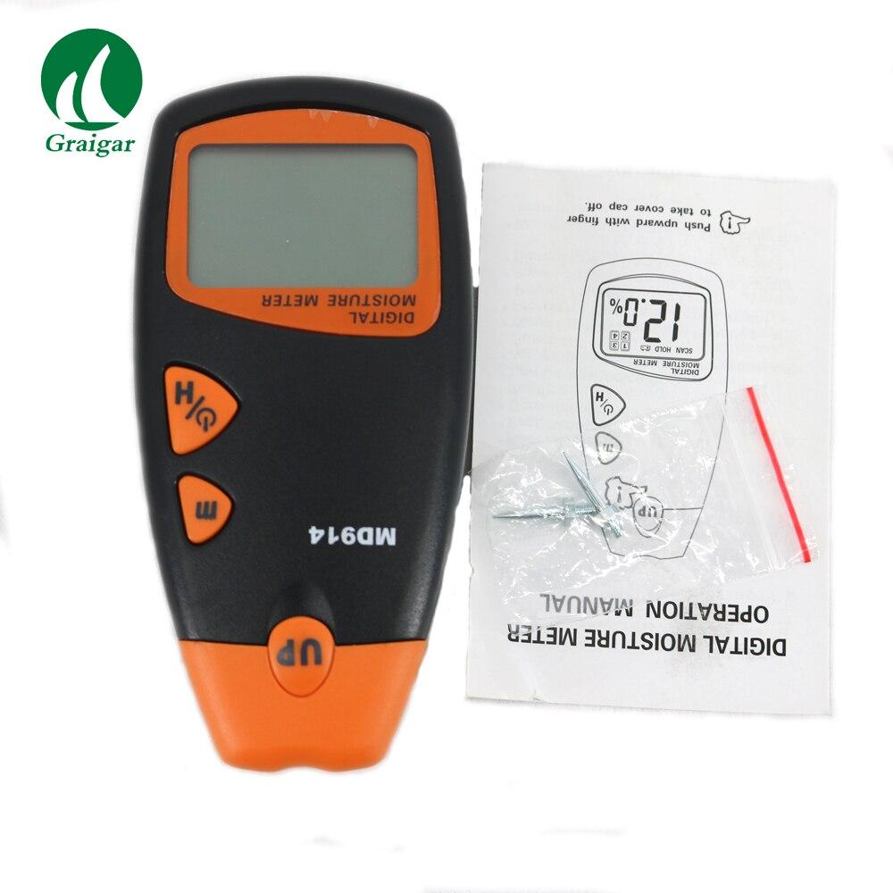 HOUT Digitale LCD vochtmeter digitale Timber Vochtige Detector MD914 - 2