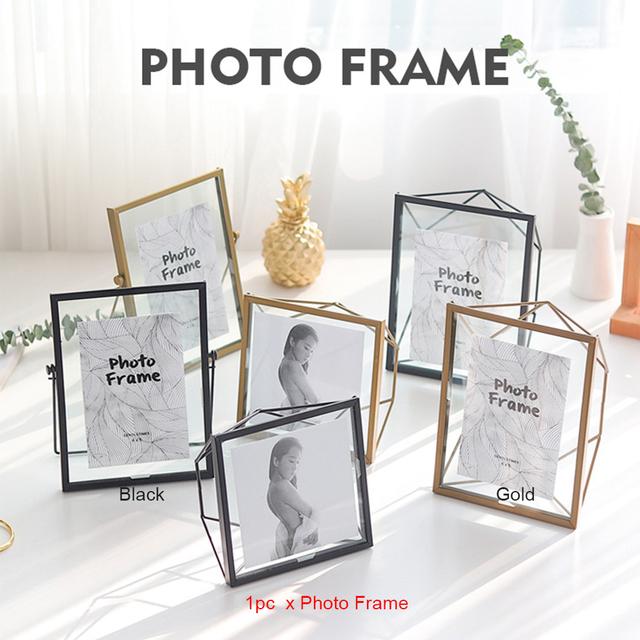 Wall Hanging Metal Photo Frame