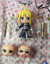 "Cute 10cm 4"" Nendoroid Fate Stay Night - Saber Lily Boxed PVC Action Figure Collection Model Toy Gift #121(China)"