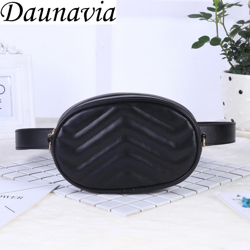 2020 New Bags For Women Pack Waist Bag Women Round Belt Bag Luxury Brand Leather Chest Handbag Beige New Fashion High Quality