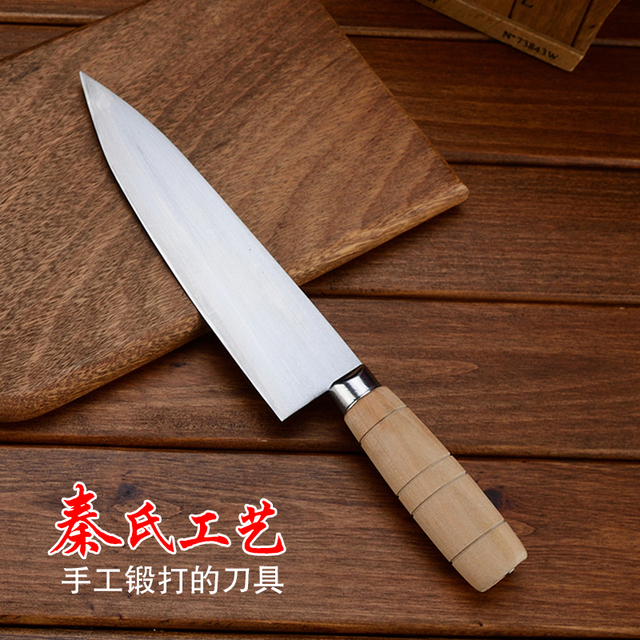 free shipping qins professional forged kitchen slicing meat