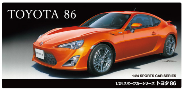 Tamiya #24323 1/24 Toyota 86 FT GT 86 Scion FR S