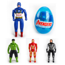 цена The Avengers Super heroes Hulk Captain America Iron Man Deformation Egg Robot Action Figures Doll Toy For Kids Gifts онлайн в 2017 году