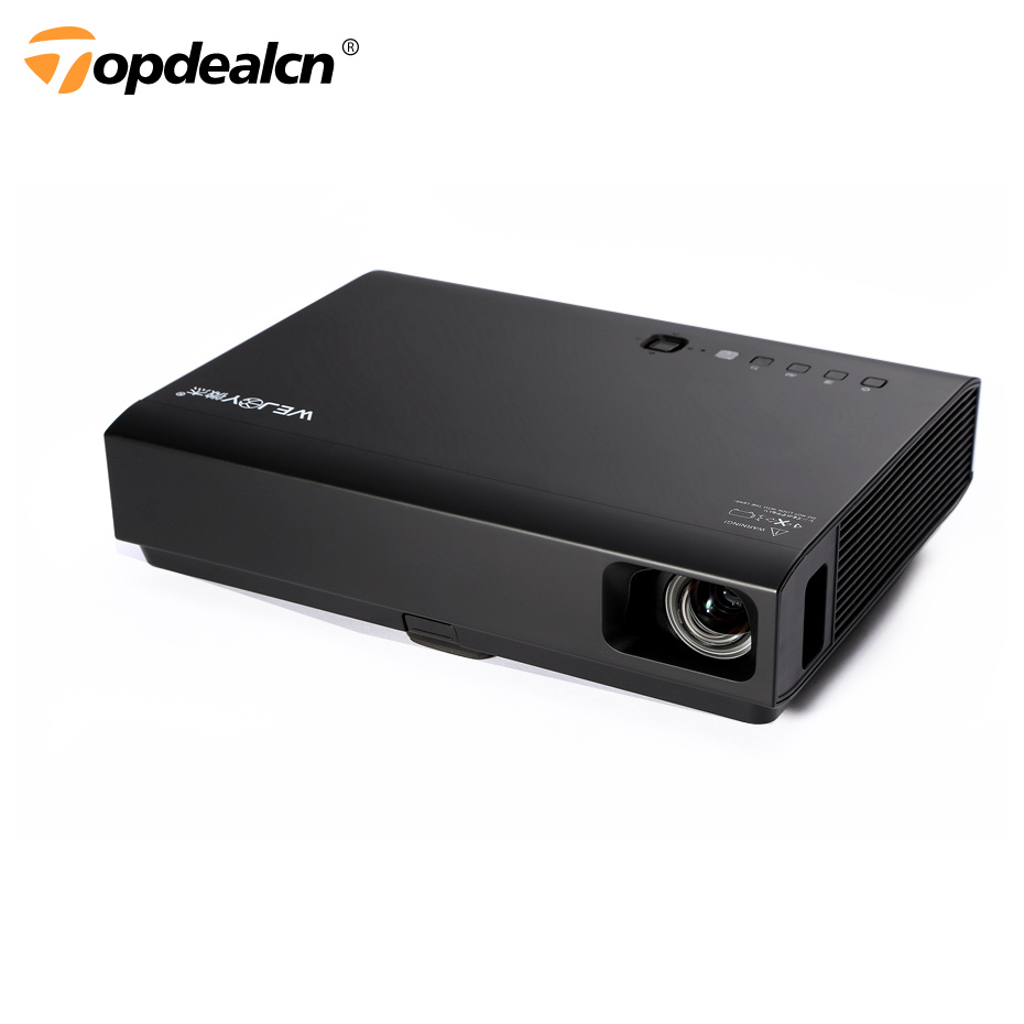 HD 3D Laser Projector Smart DLP Projectors HDMI Output Wireless Bluetooth Projector Home Cinema Multimedia Projector WEJOY DL310