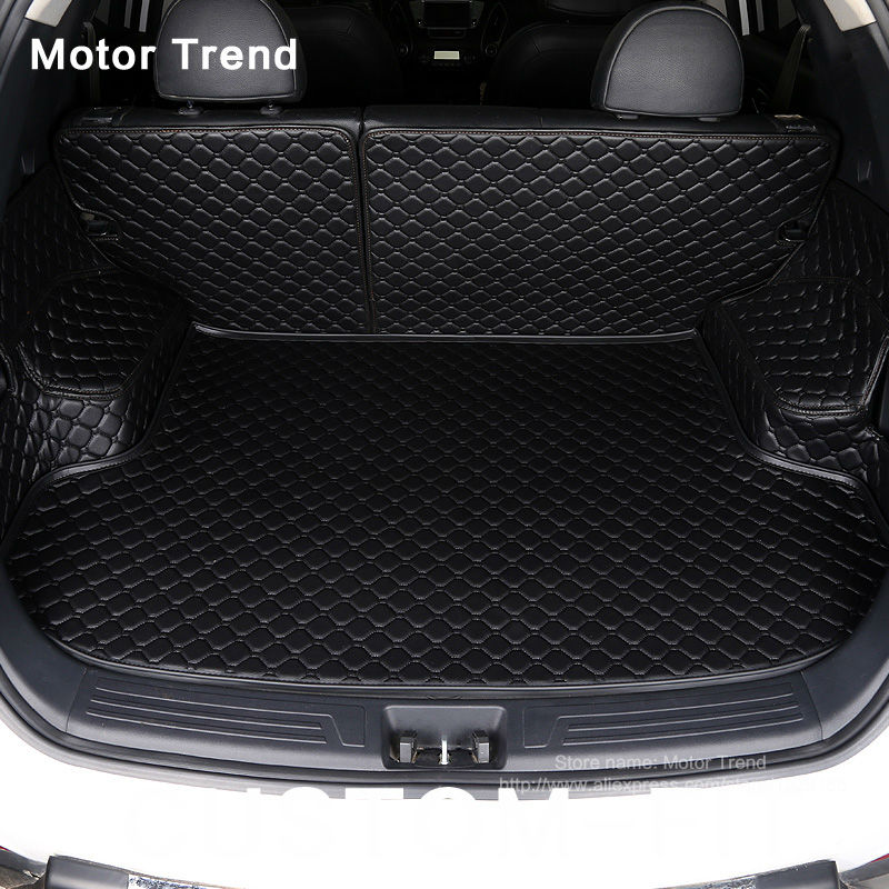 3d Custom Fit Car Trunk Mat For Honda Accord Civic Crv City Hrv Crosstour Fit Car-styling Heavey Duty Tray Carpet Cargo Liner Interior Accessories Automobiles & Motorcycles