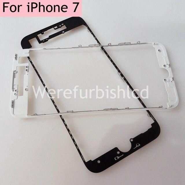 Высокое качество передняя Рамка Корпуса рамка Для iphone 7 4.7 дюймовый ЖК Ближний Держатель Замена Корпуса