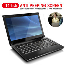 14 Inch Privacy Filter Anti Scratch laptop Screen Protector Film anti peeping Dustproof Protective Notebook