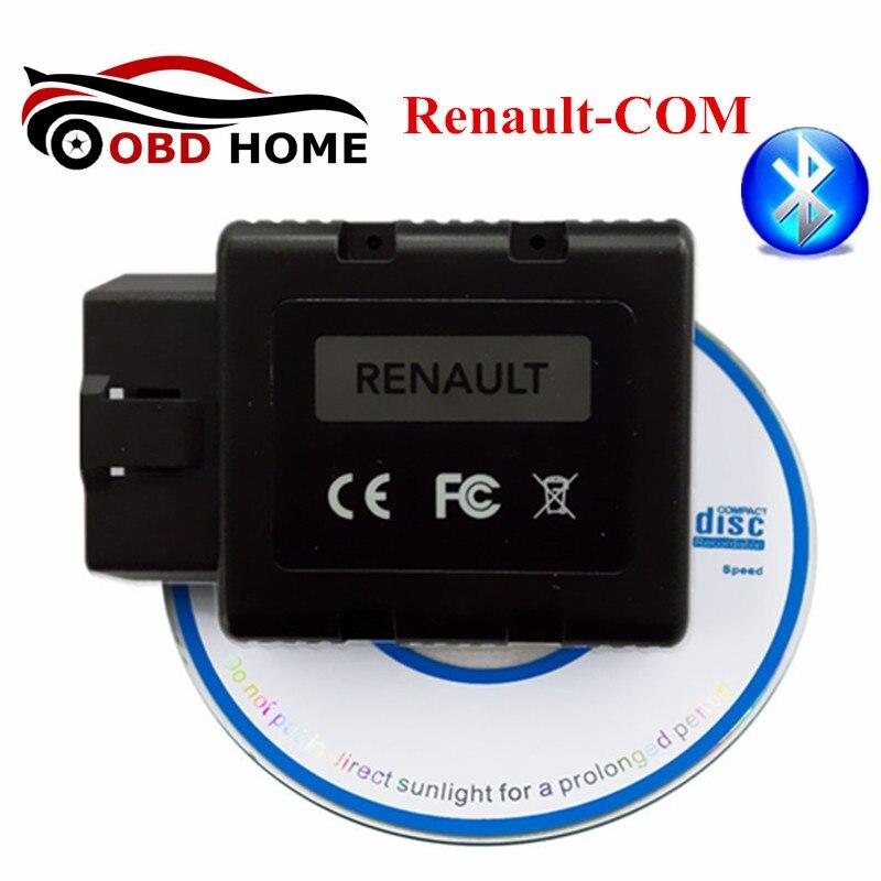 Новый релиз Renault-COM Bluetooth диагностический и программист инструмент для Renault МОЖЕТ закрепить диагностический инструмент
