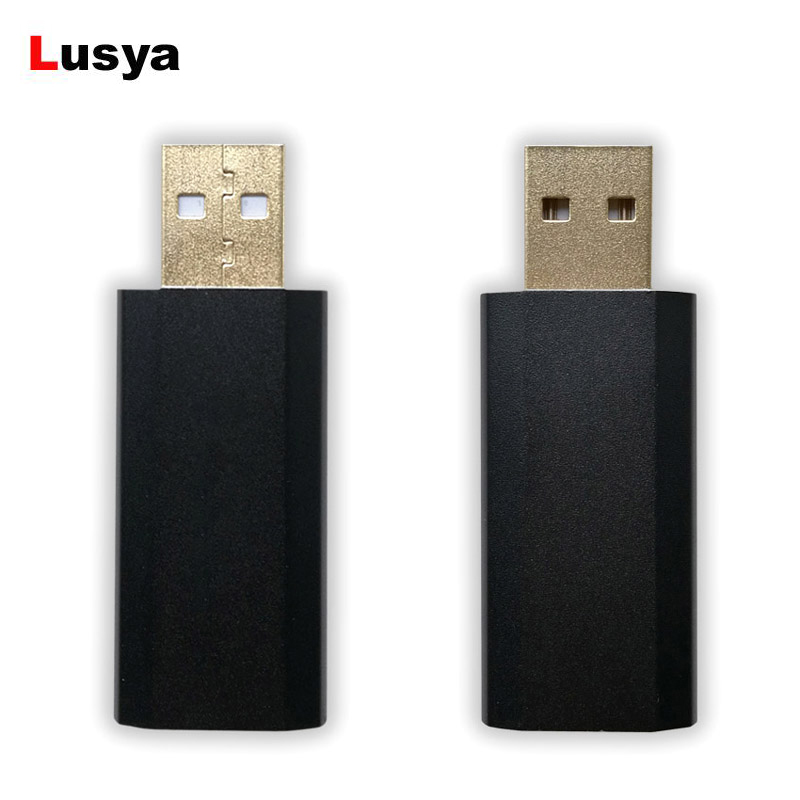 ES9018K2M HIFI USB Portable DAC External Sound Card Decoder A9123 32bit 192kHZ For Amp musiland 01us mark2 usb hifi external sound card hardware decoding dsd support 32bit 384khz