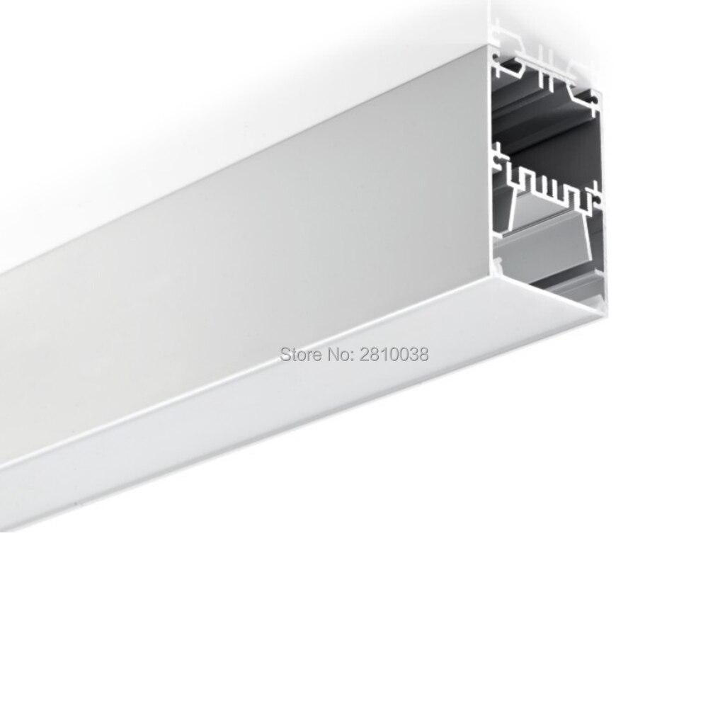 U canal de alumínio levou para a parede de iluminação