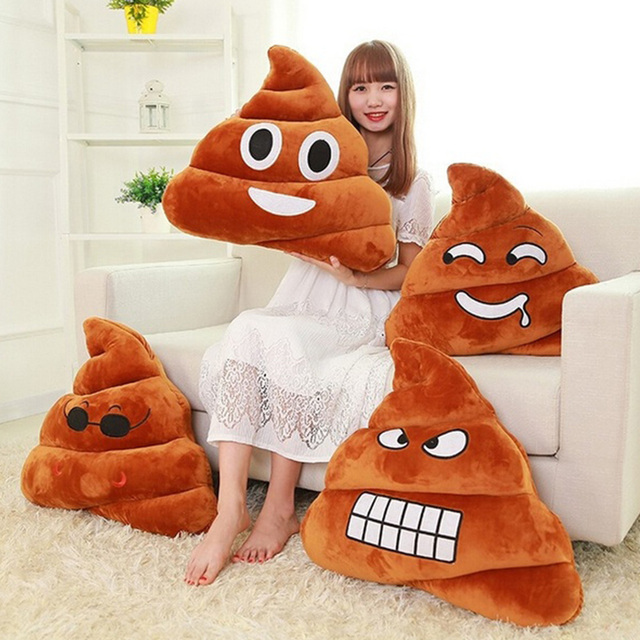 Novelty funny emoji cushion poo shape pillow stuffed doll toys novelty funny emoji cushion poo shape pillow stuffed doll toys xmas christmas gifts for kids children negle Image collections