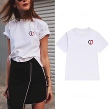 Street Fashion Slim Summer Basic t shirt Women 2017 New Letter Print Casual Slim Women Tops T-Shirts Plus
