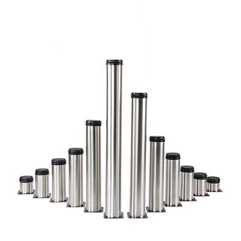 1Pcs 50MM-350MM Stainless Steel Adjustable Table Support Feet For Furniture Cabinet Sofa Chairs