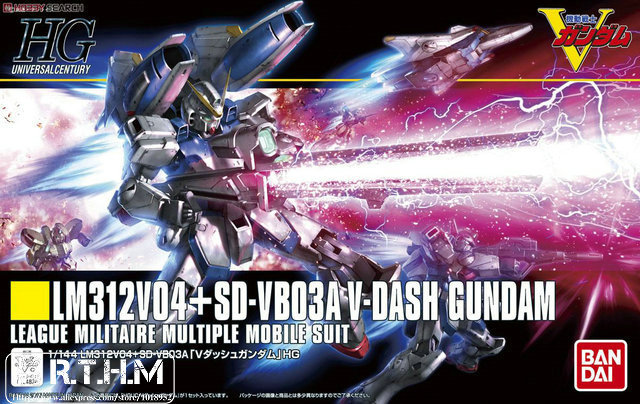 Bandai HGUC 188 V Dash Gundam Gundam model kit hobby scale model building bandai bandai gundam model sd q version bb 309 sangokuden wu yong bian xiahou yuan battle