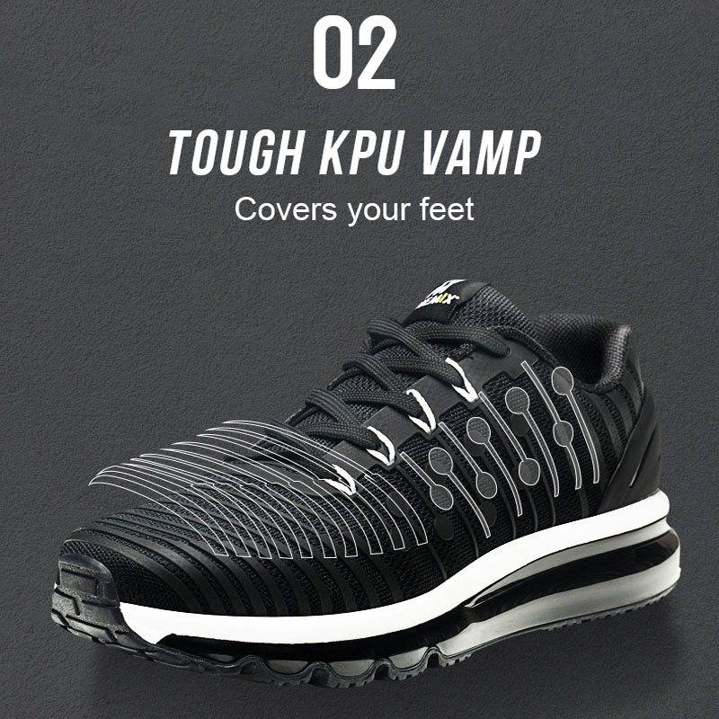 Men's New Lightweight Air Cushion Running Sports Sneakers Jogging Athletic Shoes