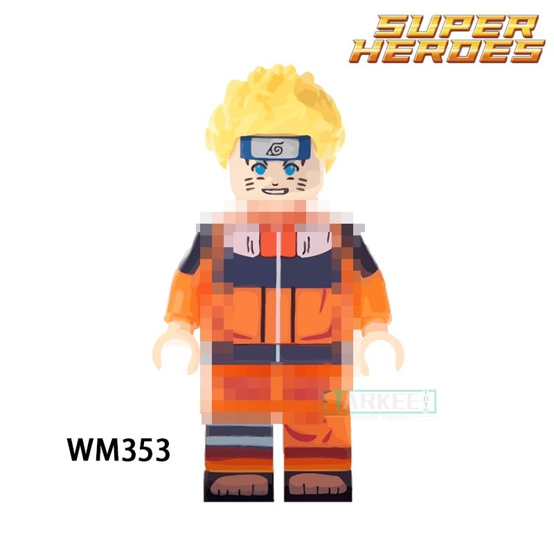 Building Blocks Uzumaki Super Hero Star Wars Model Set Action Bricks Dolls Kids DIY Toys Hobbies WM353 Figures