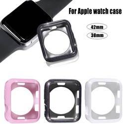 Новый протектор корпус Бампер рамка 4 цвета для iWatch серии 3/2/1 Экран антифал для Apple Watch случае 42/38 мм крышка аксессуары