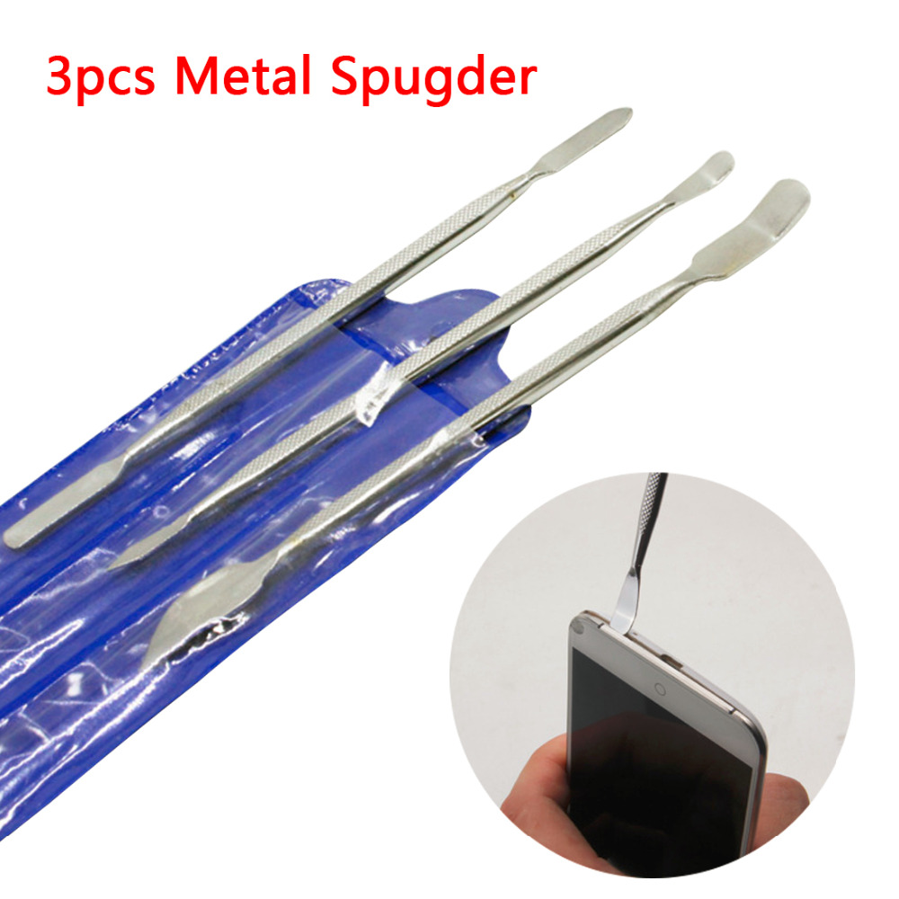Smartphone Metal Pry Spudger Opening Tools Kits 3pcs/set Herramientas Mobile Phone Repair Tool For iphone iPad For Samsung image