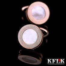 2020 Элитная рубашка kflk запонки для мужчин подарок бренд манжеты