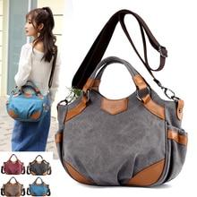 2020 New Canvas Shoulder Bags Womens Casual Messenger Bags High Quality Ladies Totes Handbags Female Crossbody Bag Bolsas