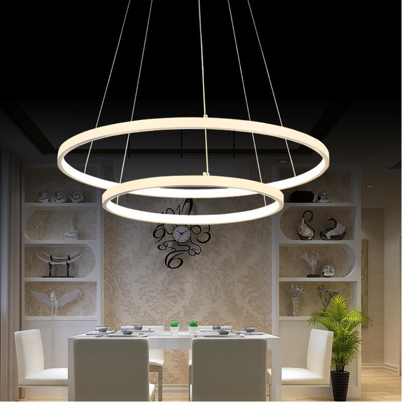 Moderne LED Kronleuchter Für Wohnzimmer Esszimmer Acryl Aluminium  Suspension Hängeleuchte Hause Beleuchtung Dekoration Leuchte In Moderne LED  Kronleuchter ...