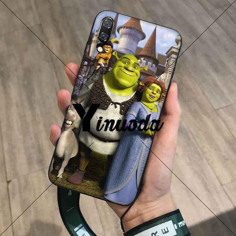 Yinuoda Kartun Moive Shrek Coon Coque Shell Phone Case untuk Huawei Mate10 Lite P20 Pro P10 Plus Honor 9 10 mobile Cover