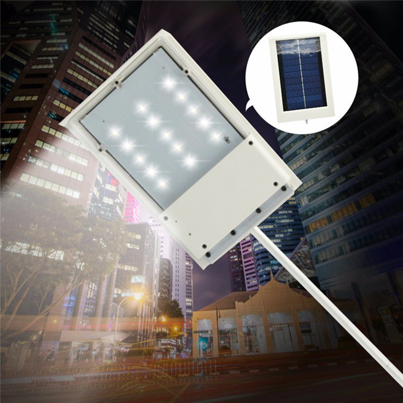 buy New 15 Leds Waterproof Solar Wall Light Street Lights Outdoor Garden Super Bright Lamp Landscape Lamps Sensor Auto ON/OFF pic,image LED lamps offers