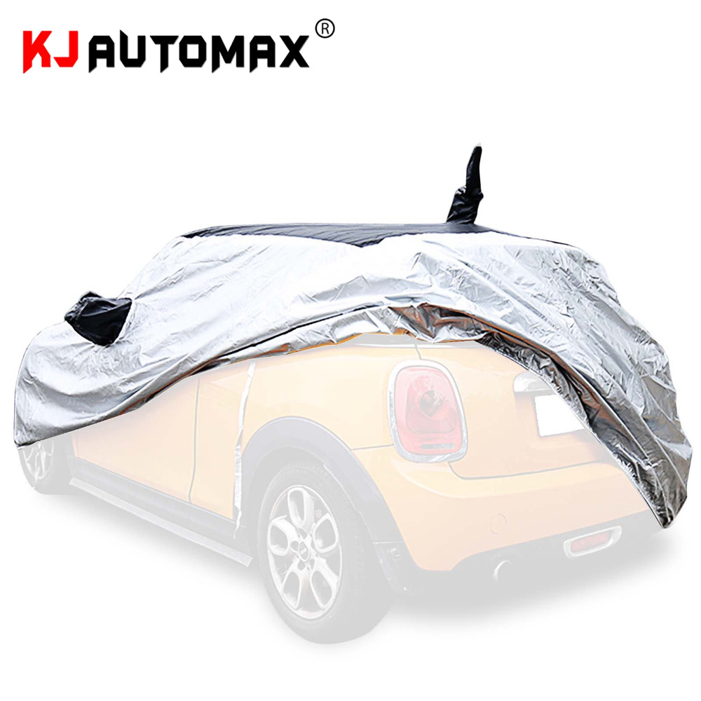 hight resolution of for mini cooper car cover with originally antenna space rain protection r55 r56 r60 f54 f55 f56 car styling accessories in styling mouldings from