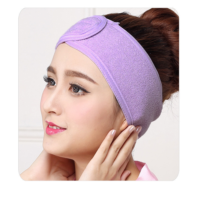 1 pcs Wash Face Makeup SPA Women Sweat Elastic Soft Headbands Fashion Bath Sweat Makeup wicking beauty salon special tools tatt
