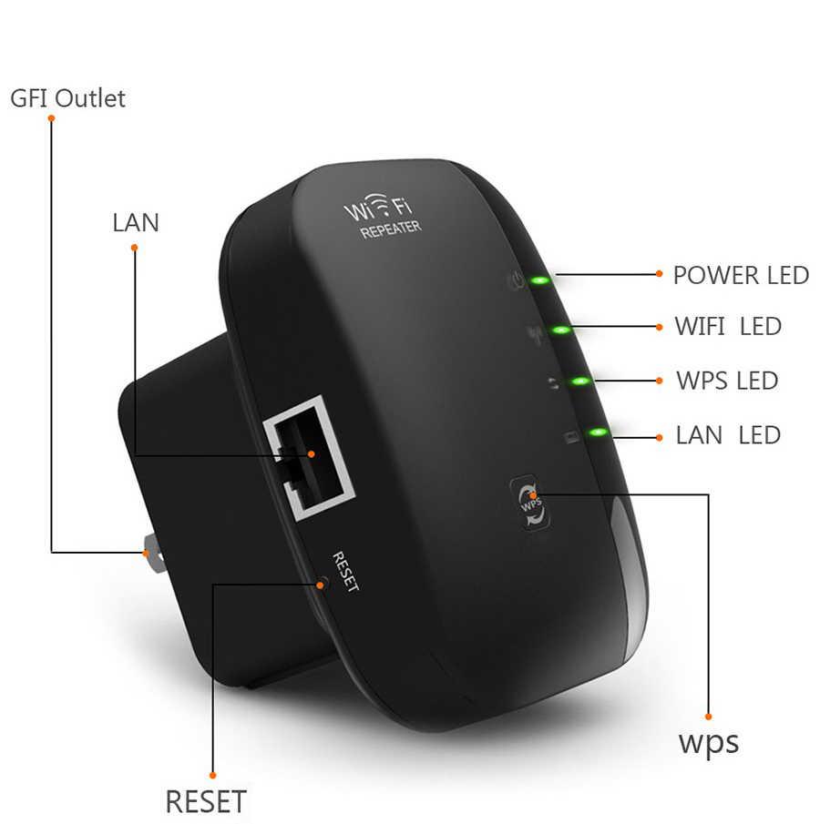 لاسلكي واي فاي مكرر واي فاي المدى موسع 300Mbps مكبر صوت أحادي 802.11N/B/G الداعم تكرار واي فاي نقطة وصول Reapeter