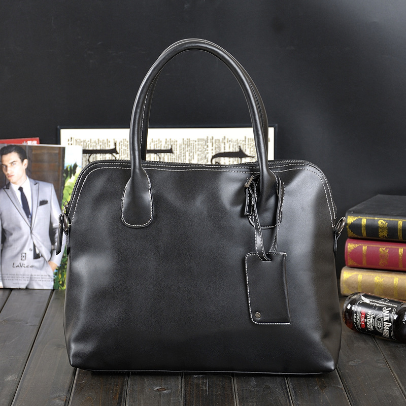 2016 Pu Leather Men Briefcase Man Bags Business Laptop Tote Bag Men s Crossbody Shoulder Bag