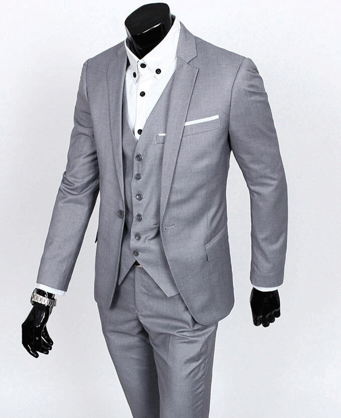 New Arrival Groom Tuxedo Groomsmen 4 Colors Wedding Dinner Evening Suits Best Man Bridegroom Jacket Pants Tie Vest B20 In From Men S Clothing