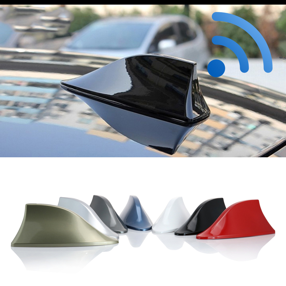 Aerials Renault Fluence Waterproof Shark Fin Antenna Special Car Radio Aerials Auto Antenna Stronger Signal Piano Paint Color: Choose A Color Accessories