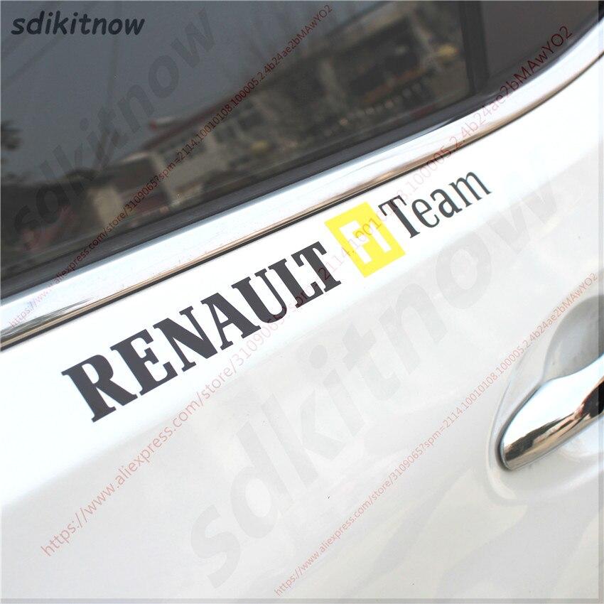 Car Stickers JDM Case For Renault Megane 2 3 Captur Latitude Clio Scenic Laguna