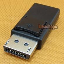 DisplayPort male to Mini DP DisplayPort Female black cable Adapter